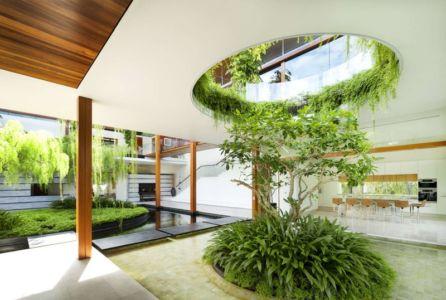 Terrasse Jardin - Coral-House par Guz Architects, Singapour