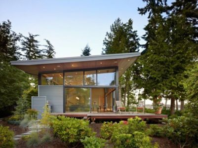 Terrasse & Jardin - port-ludlow-house par Finne - Washington, USA