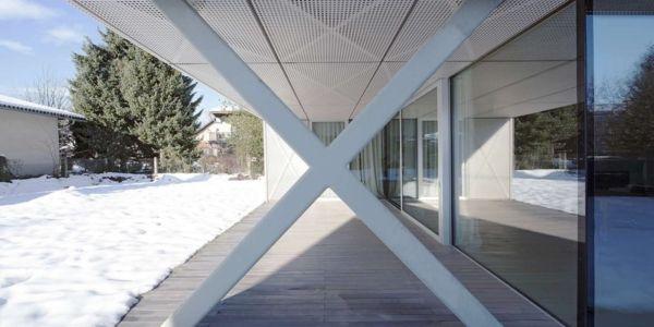 Terrasse - Maison Exclusive par Ofis Architects - Ljubljana, Slovenie