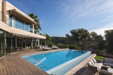 Terrasse & Piscine - Casa Llorell par dosarquitectes, Costa Brava, Espagne
