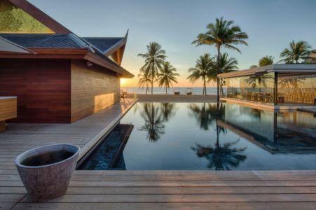 Terrasse & Piscine - iniala-beach-house par Estudio & A-Cero - Phang Nga, Thaïlande