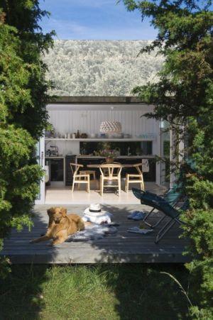 Terrasse Salon Design - juniper-house par Murman Arkitekter - Kattammarsvik, Suède