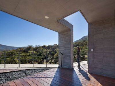 Terrasse Balcon - Y-House Par ON Architecture - Ulsan, Coree Du Sud