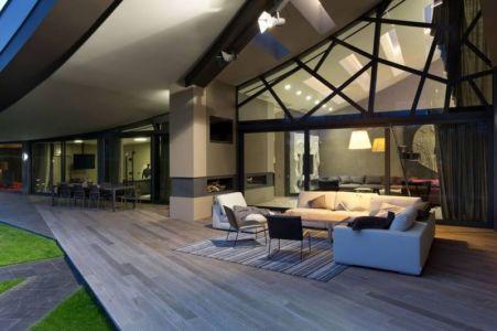 Terrasse Salon Design - House-Kharkov Par Sbm Studio - Kharkov, Ukraine