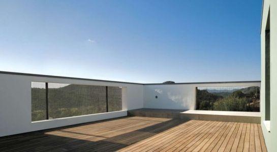 Terrasse Toit Bois - Coma-House-2 Par Juan Marco - Castellón De La Plana, Espagne