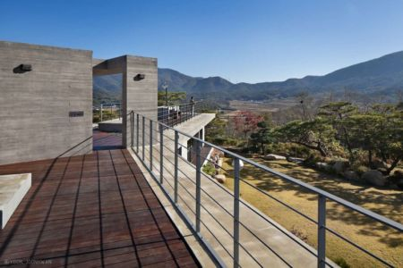 Terrasse Toiture - Y-House Par ON Architecture - Ulsan, Coree Du Sud