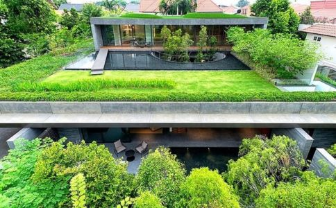 The Wall House by FARM - Singapour - source