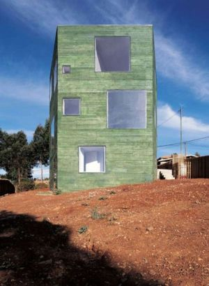 Three-Storey House Architecture in Chile by Pezo von Ellrichshausen - Vertical Architecture - +d'infos