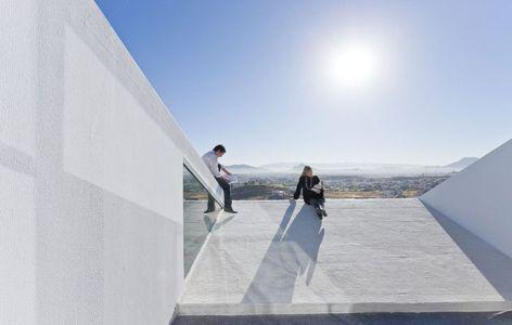 Toit terrasse - house-chihuahua par Productora - Chihuahua, Mexique