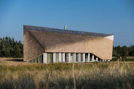Toiture Sinueuse - Dune-House Par Archispektras - Lettonie