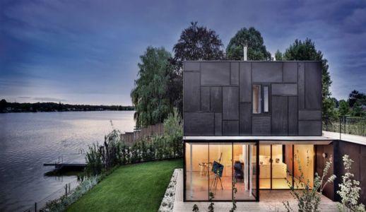 façade lac - Lake-House par Maximilien Eisenkock Neufelder, Autriche