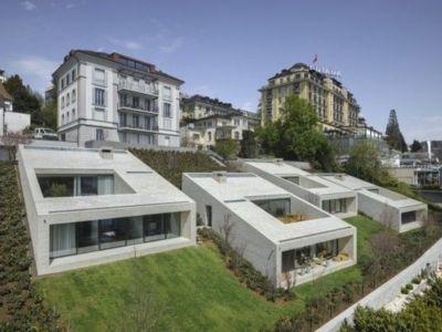 Urban Villas par Lischer Partner Architekten Planer - Lucerne, Switzerland