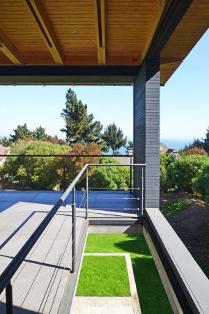 Veranda - House Cs par Alvaro Arancibia - Cachagua, Chili