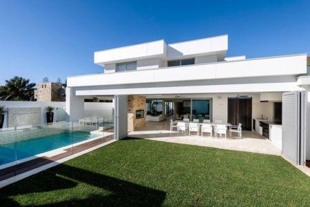 faàade terrasse - cottesloe-residence par Custom-Homes - Perth, Australie
