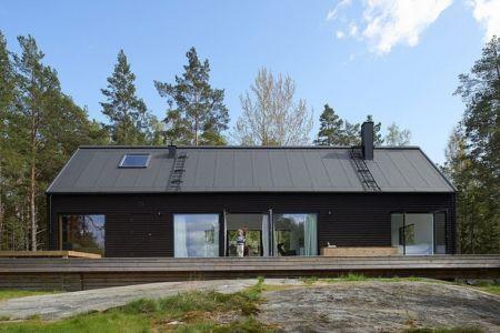 Villa Wallin par Erik Andersson Architects - Yxlan, Suède - + d'infos