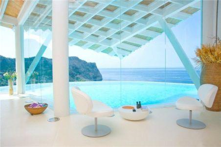 Villa avec vue sur mer par Alberto Rubio - Cala Marmacen - Puerto Andratx, Majorque, Espagne+ d'infos
