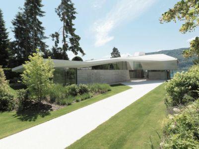 Voie Privée Accès - Lake-House-Portschach Par A01 Architects - Carinthie, Autriche