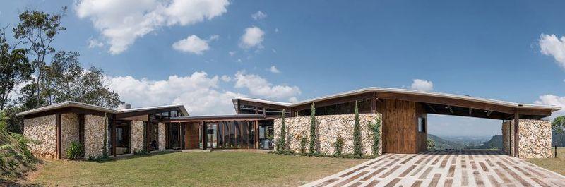 Voie Privée & Façade Principale - Gozu-House Par Opus - El Retiro, Colombie