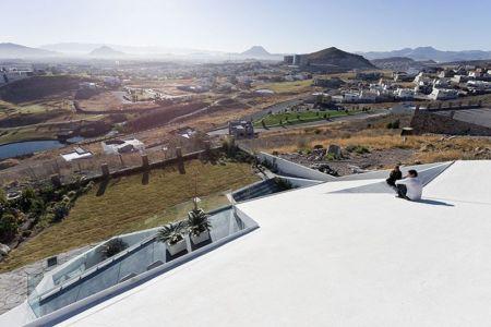 Vue toiture - house-chihuahua par Productora - Chihuahua, Mexique