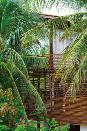 Vue façade étage - Casa Tropical par Camarim - Mundau, Brézil
