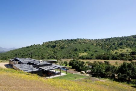 Vue Panoramique Colline - houses-10-and-10-10 par Gonzalo Mardones - Tierras Blancas, Chilie