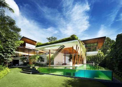 Vue Panoramique - Coral-House par Guz Architects, Singapour