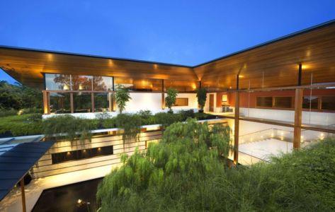 Vue Panoramique Façade Etage - Coral-House par Guz Architects, Singapour