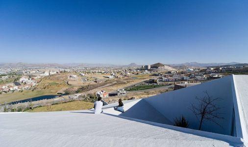 Vue Panoramique toiture - house-chihuahua par Productora - Chihuahua, Mexique