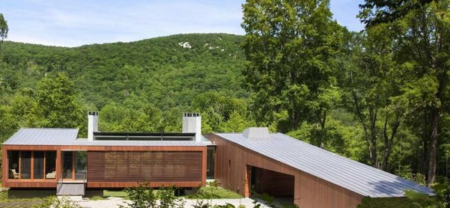 Vue Panoramique - bridge-house par Joeb Moore & Partners - Kent Connecticut, USA