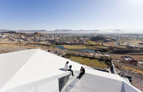 Vue Panoramique sur Toit - house-chihuahua par Productora - Chihuahua, Mexique