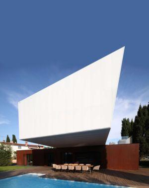 Vue Piscine - Villa Materada par Proarh, Croatie.jpg