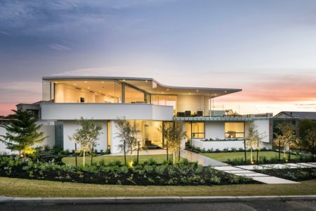 Vue Principale - City Beach House - par Banham Architects - Perth, Australie.jpg