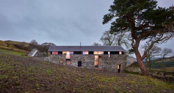 Vue Principale - maison typique par WT Architecture - Biggar, Royaume-Uni