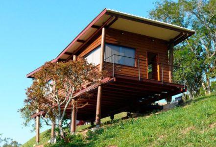 Vue d'ensemble - Small-House-Bliss par Cabana-Arquitetos - Brésil