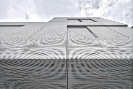 Vue façade- Maison Exclusive par Ofis Architects - Ljubljana, Slovenie