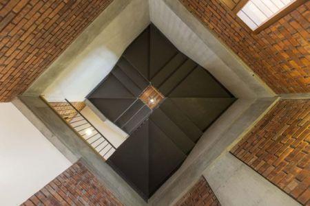Vue panoramique escalier - Sepang-House par Eleena Jamil Architect - Sepang, Malaisie