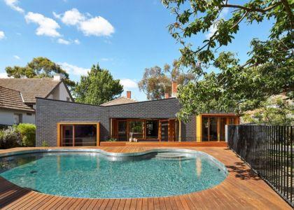 façade  piscine- rosebank-make par MAKE - Melbourne, Australie