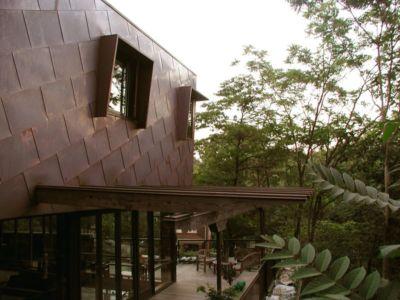 Vue terrasse - Ellis Park House par Altius Architecture - Toronto, Canada