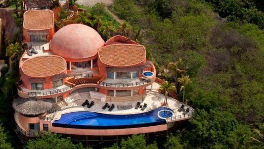 Vue Aérienne - Casa Mariposa Conçue Par Arqflores - La Cruz De Huanacaxtle, Mexique