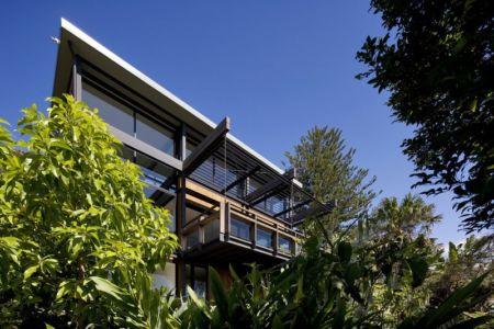 Vue Balcon - Surf-Road-House Par Nick Bell D-A - Whale Beach, Australie