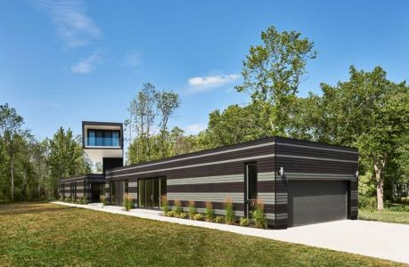 Vue D\'ensemble - Bower-House Par Kariouk Associates - Lac Erie, Canada