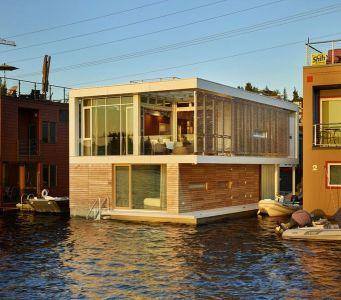 Vue D\'ensemble - Floating-Home Par Vandeventer-Carlander - Seattle, USA