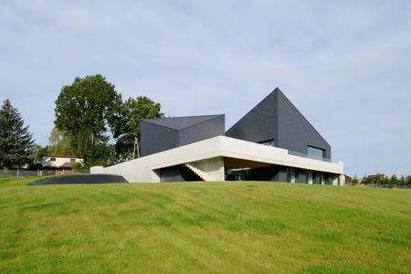 Vue D\'ensemble - House-Krostoszowice Par RS+ - Krostoszowice, Pologne