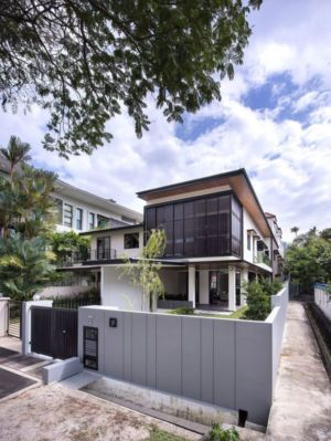 Vue D\'ensemble - Spacious-Home Par ADX Architects - Singapour
