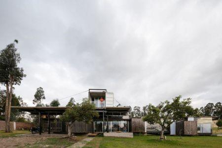 Vue D\'ensemble Jour - RDP House Par Daniel Moreno Flores - Pichincha, Equateur