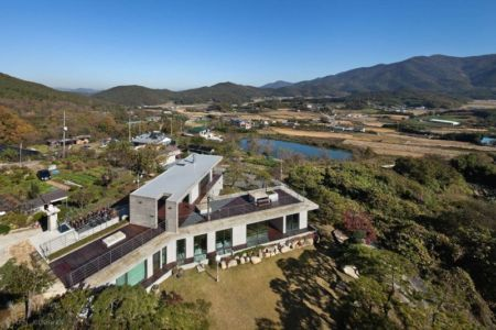 Vue Panoramique - Y-House Par ON Architecture - Ulsan, Coree Du Sud