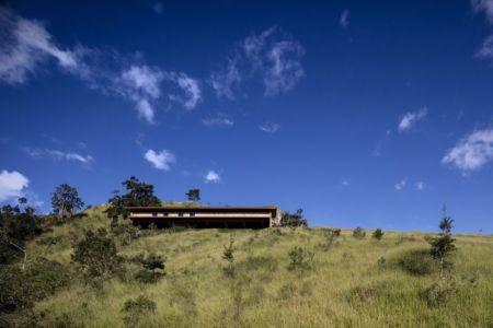 Vue Panoramique Façade Principale - Catucaba-Farm Par Studio MK27 - Catucaba, Brazil