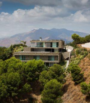 Vue Panoramique Paysage - El Meandro Par Marion Regitko - Malaga, Espagne