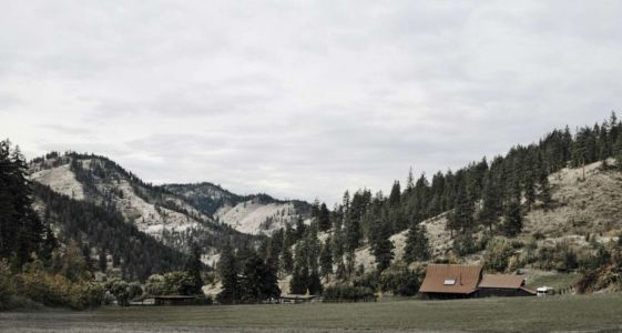 Vue Panoramique Paysage Site - Rural-Barn Par MW Works - Leavenworth, USA