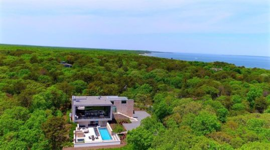 Vue Panoramique Site - Hampton-Home Par Barnes Coy Architects - Hamptons, USA